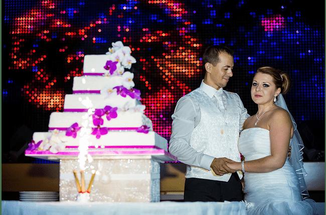 Donat und Elena Hochzeitstorte