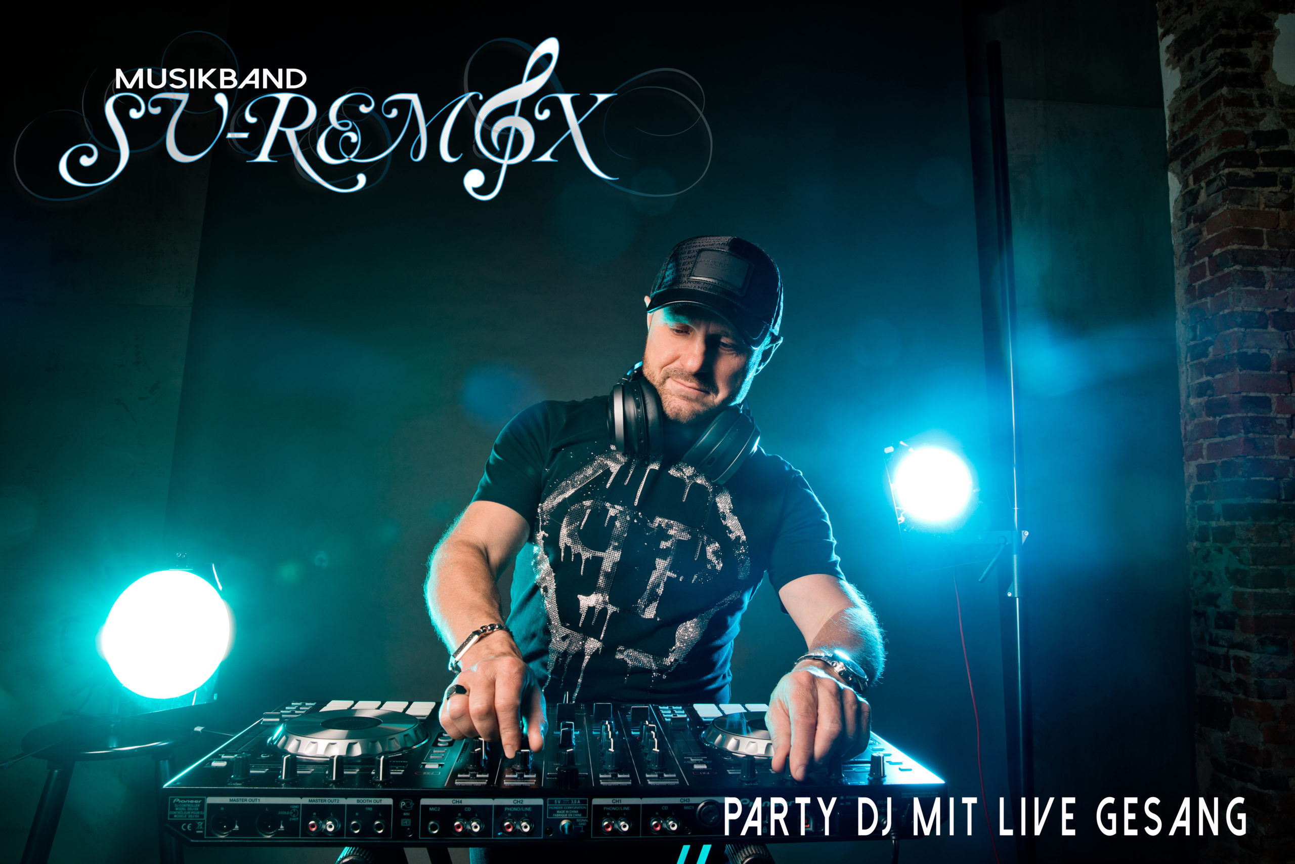 Party DJ mit Live Gesang